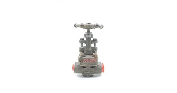 NEWCO 41 BR 204 28X-FS3 Steel Globe Valve 3//4IN 800 D583554