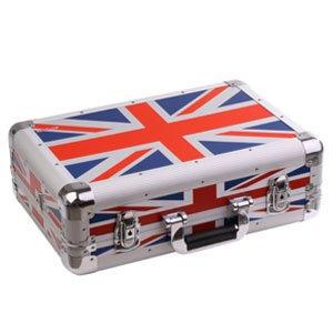 ZOMO VC1 XT de maletas para ni/ños bandera de Reino Unido para equipo de DJ