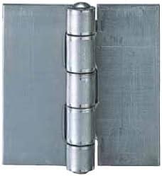丸喜金属 N-700 150 生地ミガキ リベット丁番 サイズ:153 4枚入