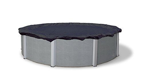 Bronze Round Pool Cover - Blue Wave Bronze 8-Year 15-ft Round Above Ground Pool Winter Cover (Renewed)