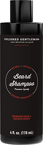 Beard Growth and Thickening Shampoo - With Organic Beard Oil - Beard...