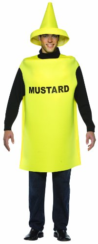 Rasta Imposta Lightweight Mustard Costume, Yellow, One Size]()