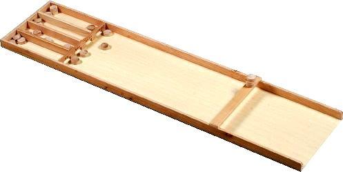 Brimtoy Dutch Shuffleboard Junior (Sjoelbak). Holz, 122cm lang. 122cm lang. Brimtoy Ltd BTEH340650