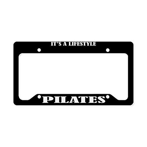 pilates license plate frame - 7