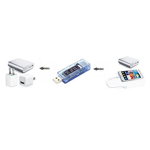 ueb usb digital multimeter  ampere voltage capacity meter