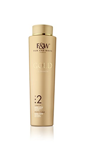 Fair & White Gold 2 Maxi Tone Body Lotion - Lightening & Rejuvenating with 1.9% Hydroquinone, 350ml / 11.8fl.oz.