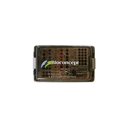 Bioconcept Straumann Compatible Dental Implants Instruments Surgical Cassette, Including Screw Container 056040, 290×175×62mm by Bioconcept
