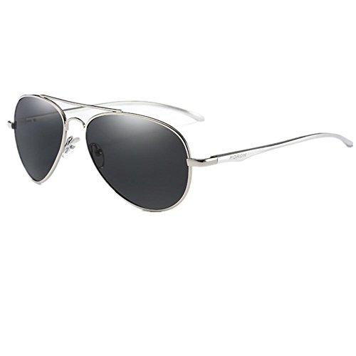 Trend Mnii Hombres Manera Espejo Silver Aspecto Sol Aluminio Yurt Magnesio Calidad Garantía Gafas De Polarizado La UFIqnrxF