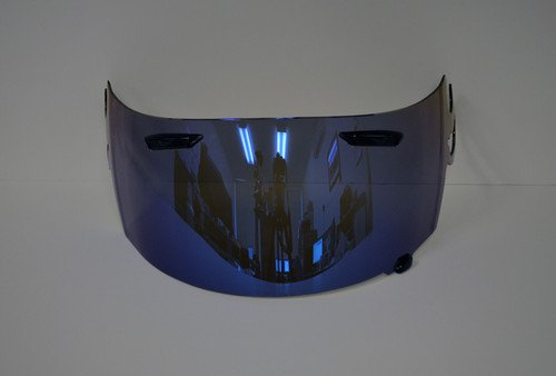 [Aftermarket Product] Blue Iridium Visor Shield for ARAI RR5 RX-Q RXQ RX-7GP