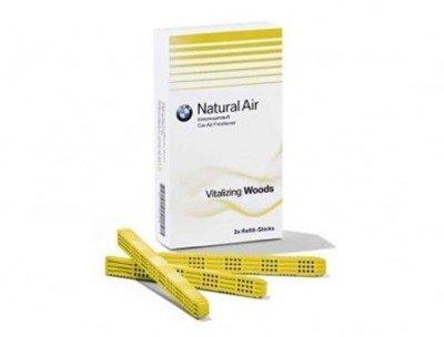 Genuine BMW Air Freshener 3 pcs or 1 pcs (Vitalizing Woods)