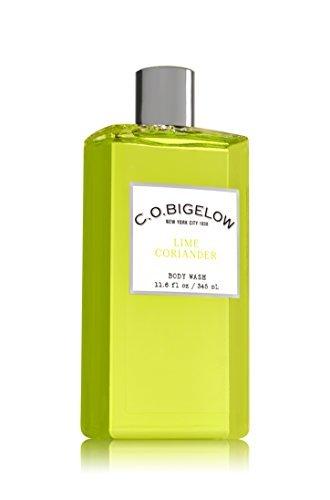 Lime Gel - C.O. Bigelow Bath and Body Works Lime Coriander Body Wash 11.6 Ounce Shower Gel