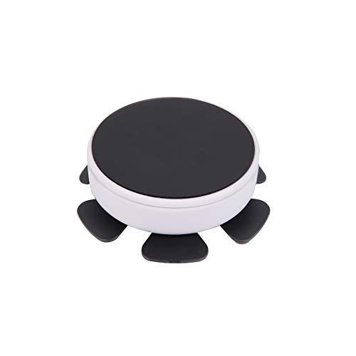Blaulock C-50 Universal Self-Balancing Magnetic Suspension Steering Wheel Phone Car Mount Holder, Compatible with iPhone/Samsung/Huawei and Most Smartphones (GentlemanWhite)