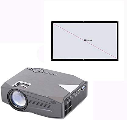 Link Co Mini proyector Juego Multimedia doméstico Full HD 1080p ...