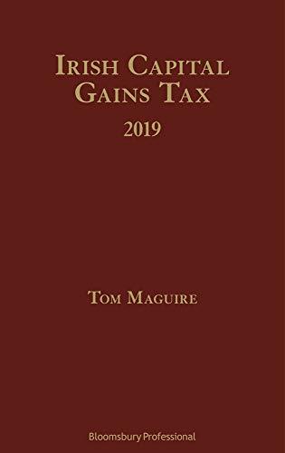 Pdf Law Irish Capital Gains Tax 2019