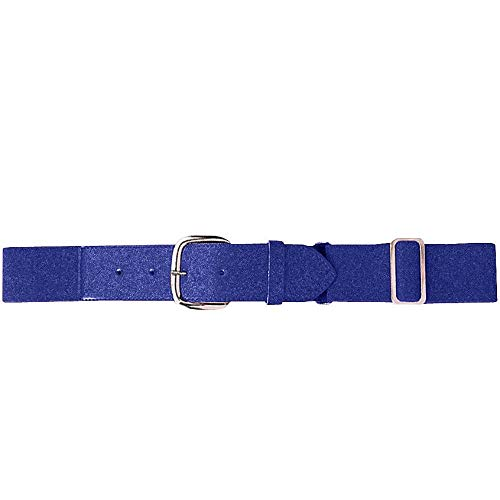 Augusta Sportswear Elastic Baseball Belt, One Size, Purple ()