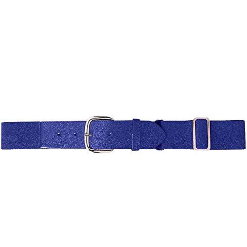 Augusta Sportswear Elastic Baseball Belt, One Size, Purple