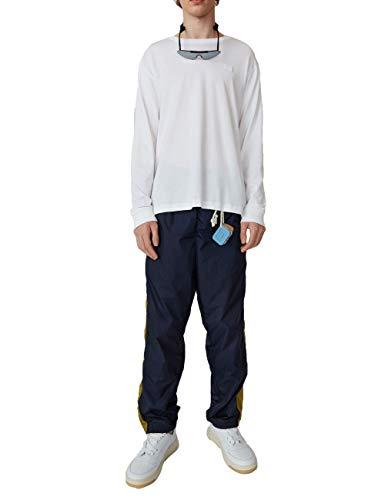 camiseta Cl0021183 de blanca Man Acne algod Studios qxwtta