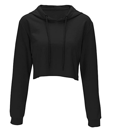 crop hooded sweatshirt - 2