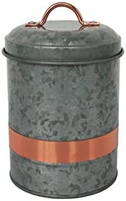 2-Count Better Homes & Gardens Galvanized Small Canister