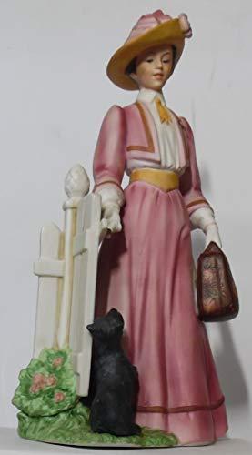 Avon Mrs Albee Presidential Award 1983 Porcelain Full Size Figurine Pre Owned