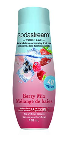 SodaStream Berry Mix Syrup, 14.8 Fluid Ounce