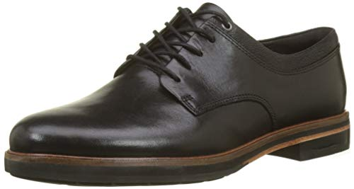 Frida Leather Derbys Black Black Clarks Women's 5Fwqpp
