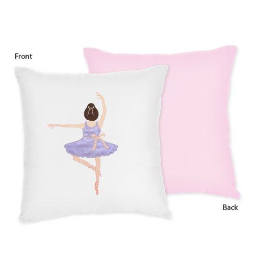 Sweet Jojo Designs Ballet Dancer Ballerina Decorative Accent