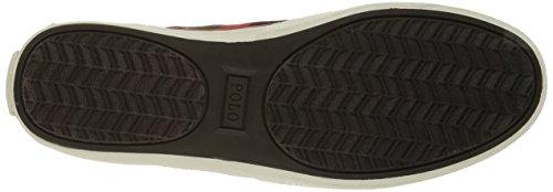 Polo Ralph Lauren Mens Halford Ripstop Fashion Sneaker Deep Olive cZTUDy8mj