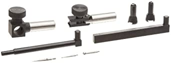Brown & Sharpe 599-7041 BESTEST Dial Test Indicator Complete Accessory Set (8 Piece Set)