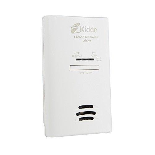 Kidde KNCOB-DP2 Tamper Resistant Plug-In Carbon Monoxide Alarm with Battery Backup by Kidde - Kidde Tamper
