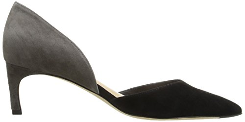 Via DOrsay Pump Black AVA Womens Spiga Ash rwHqPr