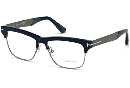 Tom Ford FT5371 C53 090: Shiny Blue / Gunmetal