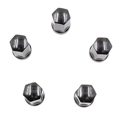 Set of 20 PC 9/16-18 Lug Nuts for Chrysler Dodge Mitsubishi RAM 6036433AA 611-204 Wheel Lug Nut (Black): Automotive