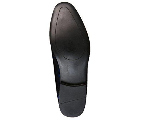 Shoes Navy Mens Metallic Morris Design Amali Metallic Splatter Smoking Styles Nicky Dress Slipper xIwdPnCq