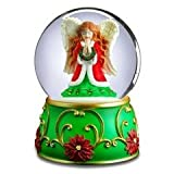 San Francisco Music Box Company - Angel Praying Water Globe