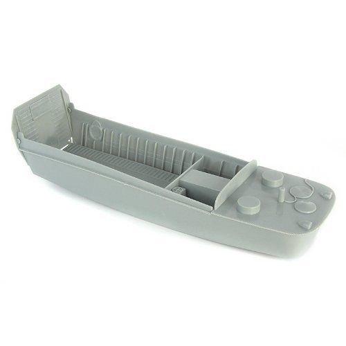 BMC Toys 1:32 BMC49998 Plastic LCVP Higgins Landing Craft D-Day - Grey - Play or Paint by BMC