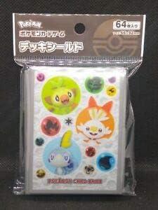 Pokemon Card Scorbunny Grookey Sobble Card Deck Case Box Japanese