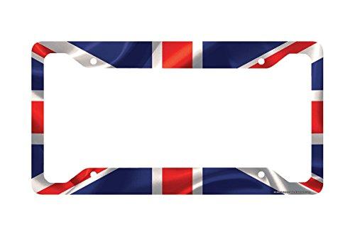 Union Jack License Plate - 4