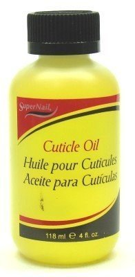 Super Nail Cuticle Oil 4 oz. (3-Pack) with Free Nail File