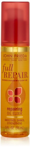 Price comparison product image John Frieda Full Repair Repairing Elixir Oil, 3 Fluid Ounce