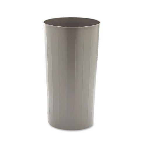 SAF9610CH - Safco 20-Gallon Steel Round Wastebasket