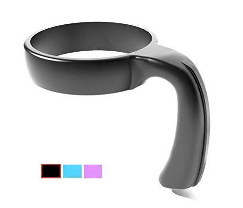 Handle for YETI Rambler Tumbler, Ozark Trail, RTIC and Many More Available in 30oz and 20oz YETI Cup Handle (20oz, Black)