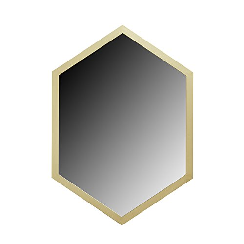 Madison Park Signature Hexi Gold Mirror with Wood Frame (Madison Crib Set)