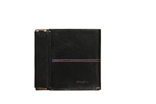 Wallet Vip Italian Collection Unisex Leather Collection Black Box Gift Wallet Unisex Vip qFYffwx