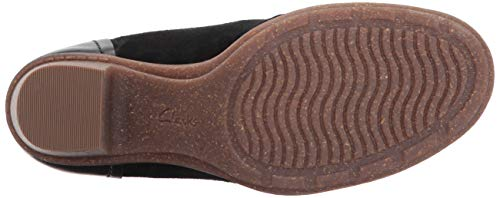 Pictures of CLARKS Women's Sashlin Sue Ankle Bootie Green 7