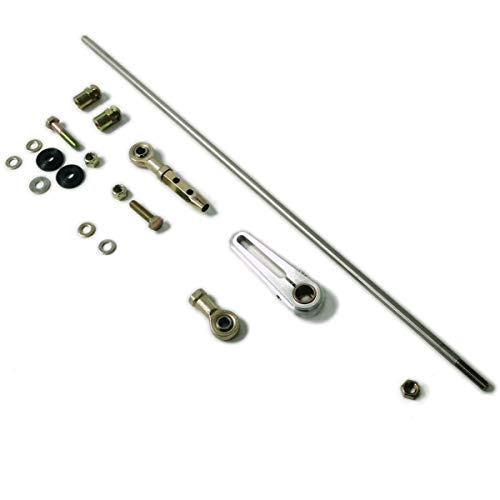 Pirate Mfg Universal Adjustable Column Shift Linkage Kit - 350, 400, 700R4 Gm Auto Trans