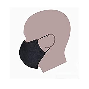 Aniji Reusable Face Cover with Nose Wire – Made in USA. Adjustable (Ear Loops) -1PC