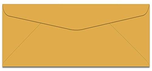 Envelopes No 10 Commercial Flap (Domtar Colors - Earthchoice No. 10 Envelopes - GOLDENROD - 500 PK)