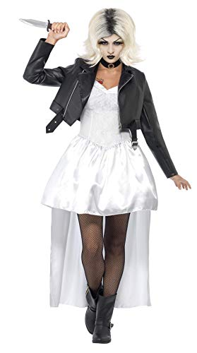 Smiffys Women's White Bride Of Chucky Costume -