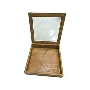 Wooden Storage Box, Brown